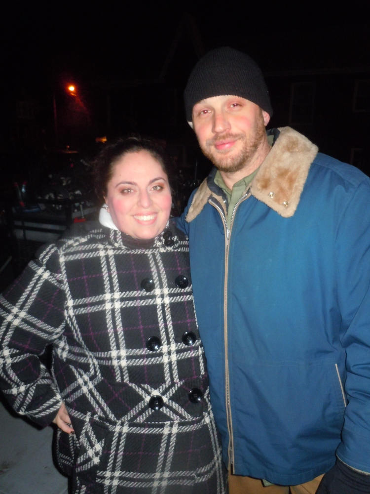 that time I met Tom Hardy: #throwbackthursday